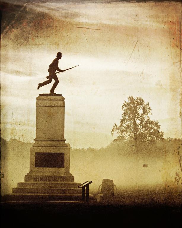 The 1st Minnesota Monument<br /> Gettysburg, PA