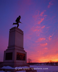 The 1st Minnesota Monument Gettysburg, PA  Featured in the 2010 Civil War Preservation Trust calendar