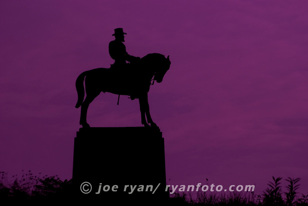 Sunset on Cemetery Hill<br /> Gettysburg, PA