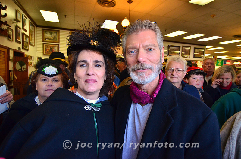 Actor, Stephen Lang, takes a moment at Remembrance Day, <br /> Gettysburg, PA <br /> November 19, 2011