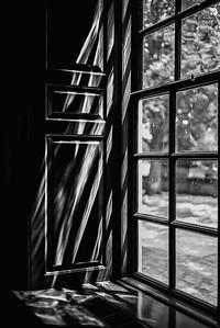 Window light. Capitol Building, Colonial Williamsburg, VA.