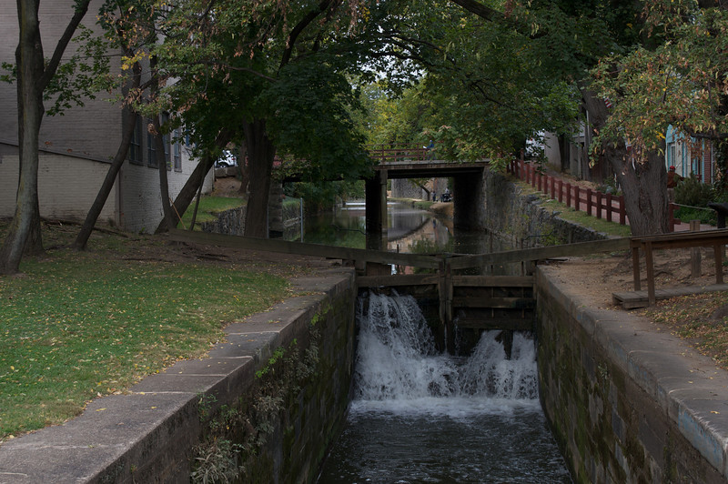 The C&O Canal in Fall