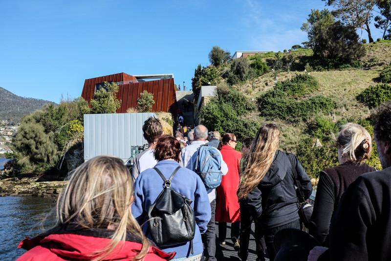 The Steps to Mona, Hobart