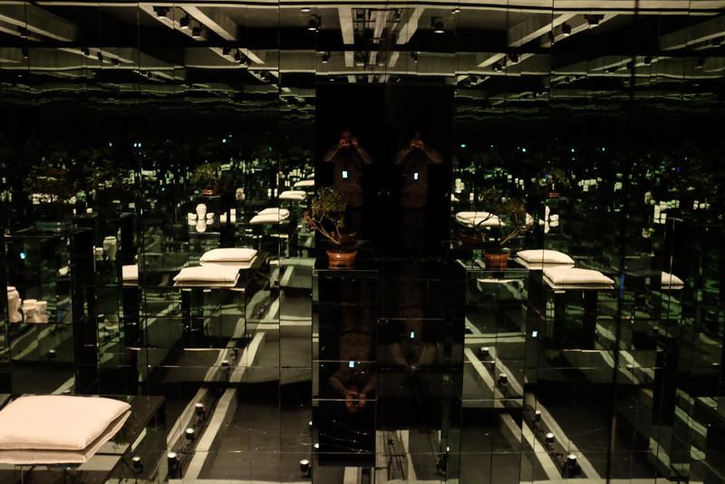 Mona, Hobart. A confusing mirror maze.