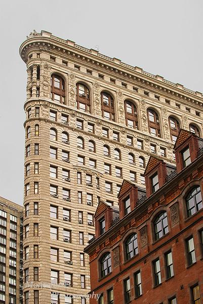 The Flatiron building NYC