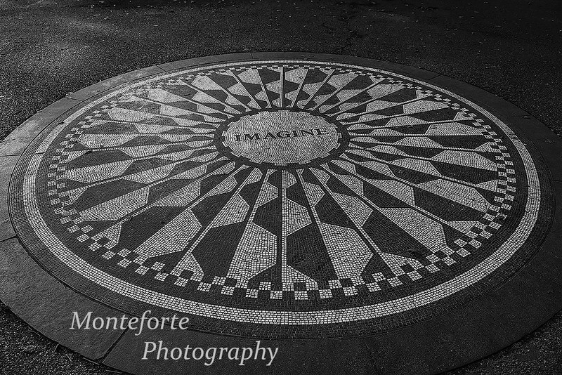 Strawberry fields Central Park NYC