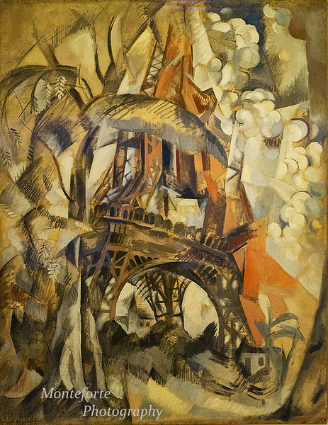 Robert Delaunay 1910 Paris France at the Guggenheim Museum NYC