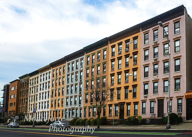 Row houses in Hoboken