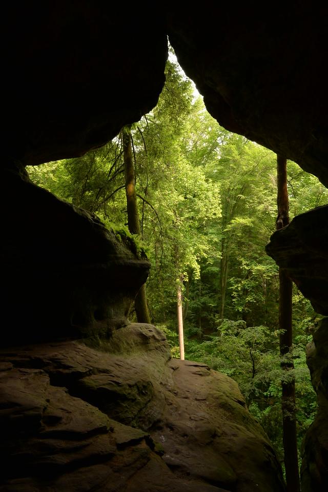 Rock House - Hocking Hills State Park