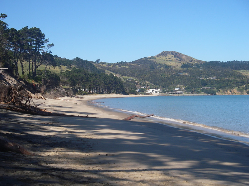 Beach in front of Bach