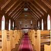 Inside St Marys Church Motuti