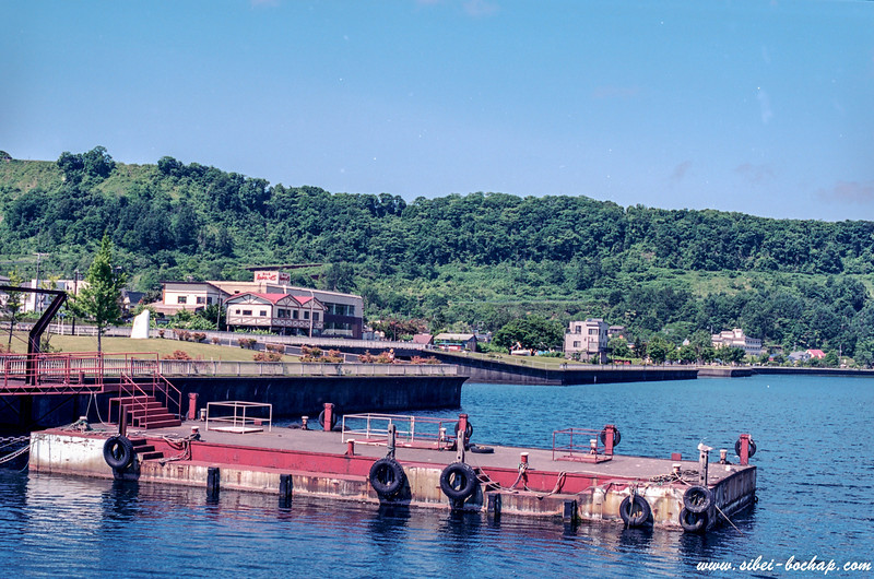 Ektar 100 - lake Toya pier