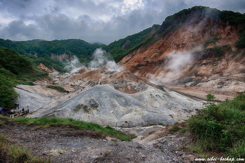 jigokudani noboribetsu (a.k.a hell valley)