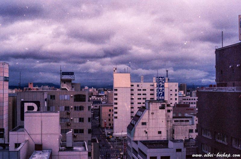 Portra 400 - Asahikawa in the morning