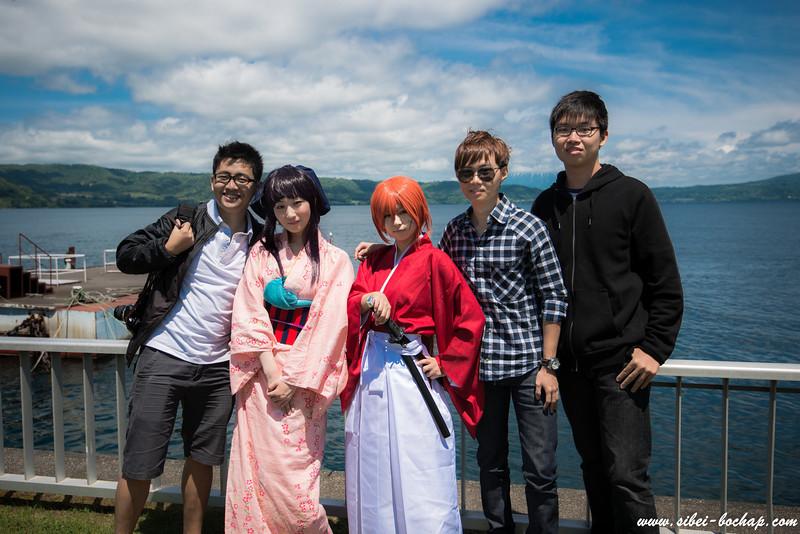 Kenshin and Kaoru