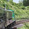 Norokko Train from Asahikawa to Lavender Farm.