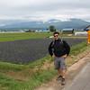 Lavender field between Biei and Furano.
