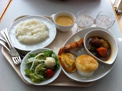 旭山動物園的二人分享一餐