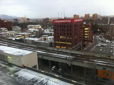 第二日酒店窗外景觀