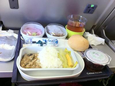 飛機餐,都幾難食 >_