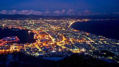 Mt Hakodate, Night View