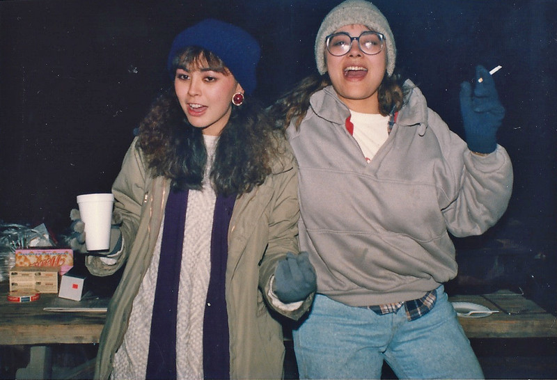 12/22/89 Holcomb Valley campground, San Bernardino National Forest, San Bernardino County, CA