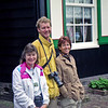 Robyn with Ad and Marieke in Marken