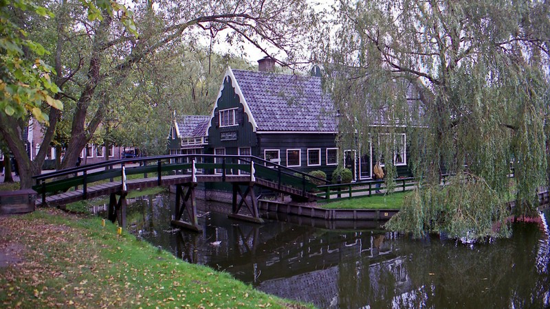 Zaanse Schans also dating back to the 1600's. Even more tourists than Marken!