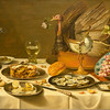 Still Life with Turkey Pie, Pieter Claesz, 1627.