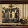 Family beside the Tomb of Prince William I in the Nieuwe Kerk, Delft. Dirck van Delen, 1645.