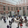 Renovated entry area for the Rijksmuseum, Amsterdam.