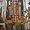 The Christian Muller organ at the Great Church of St. Bavo.<br /> Haarlem, the Netherlands.