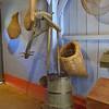 Hand-operated butter churn, Arnhem open-air museum.