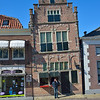 Not all houses are perfectly square in Edam!