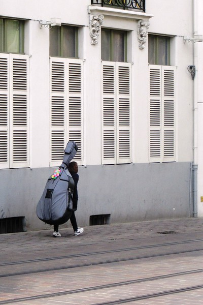 Ghent - a dedicated string bass player