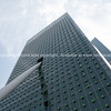 Architecture from street below, KPN Telecom Building facade