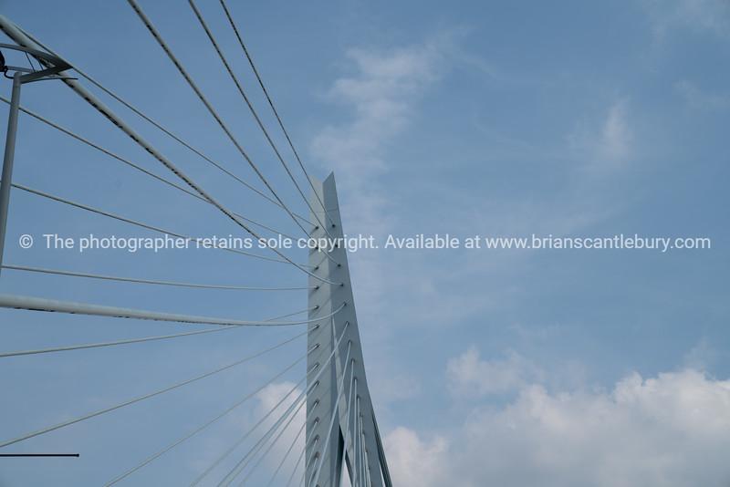 Erasmus Cable Stay Bridge Rotterdam