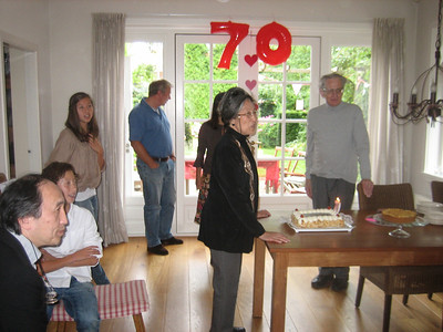 Yvonne's 70th Birthday Amsterdam August 2010
