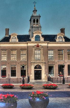 18th century building - 1732 Edam Holland - Jul 1996
