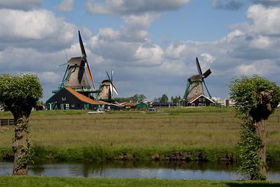 Windmill, Zaanse Zschanse, Holland