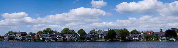 Panorama, Zaanse Zschanse, Holland