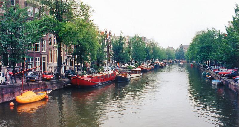 Shoe boat Amsterdam Holland - Jul 1996