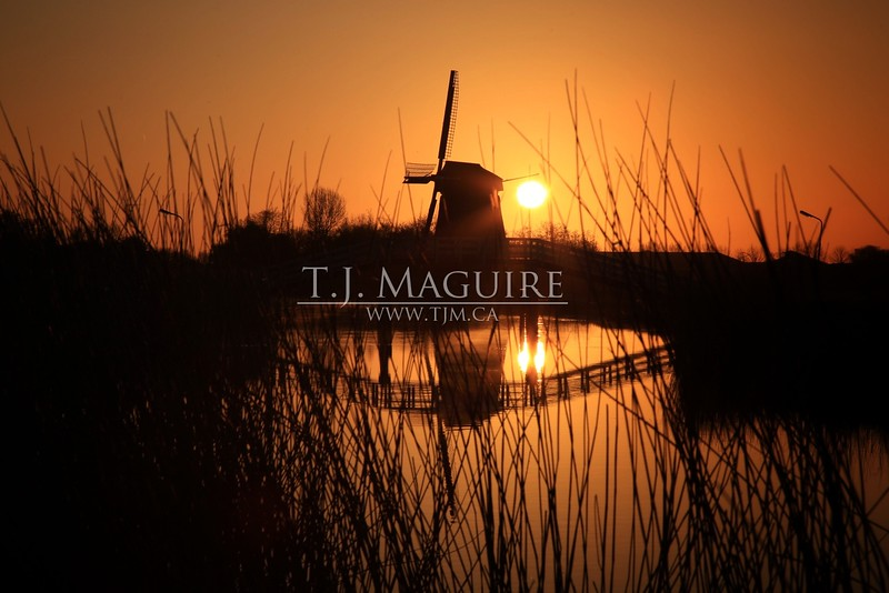 Sunrise, West Friesland, Holland