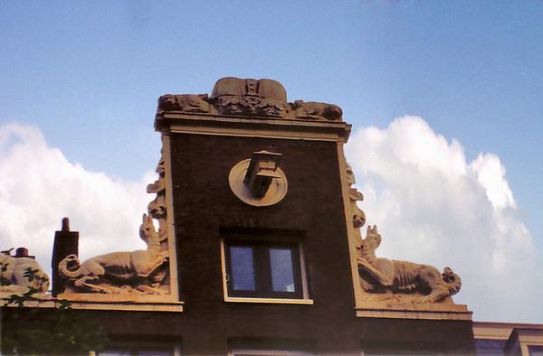 Details of hoist mechanism Amsterdam Holland - Jul 1996