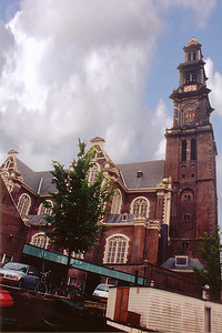Church Amsterdam Holland - Jul 1996