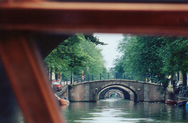 Bridge arches Amsterdam Holland - Jul 1996