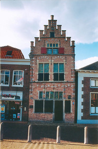 Crooked museum Edam Holland - Jul 1996