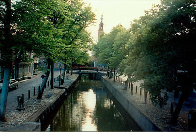 Canal Edam Holland - Jul 1996