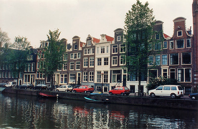 Canal Amsterdam Holland - Jul 1996