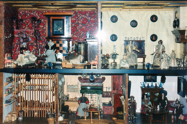 Doll house Rikmuseum Amsterdam Holland - Jul 1996